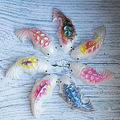 Мыло ручной работы. Ярмарка Мастеров - ручная работа Рыбки-умывашки. Handmade.