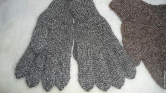 Варежки, митенки, перчатки ручной работы. Ярмарка Мастеров - ручная работа. Купить Перчатки мужские из натуральной шерсти. Handmade. Перчатки