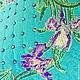 """Текстиль, ковры ручной работы. Подушка интерьерная """"Вальс цветов.Ирисы"""". Наталия Сухова (NSDecor). Ярмарка Мастеров. Бабочки"""