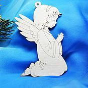 Материалы для творчества handmade. Livemaster - original item Angel Christmas tree decoration, preparation for art.. Handmade.