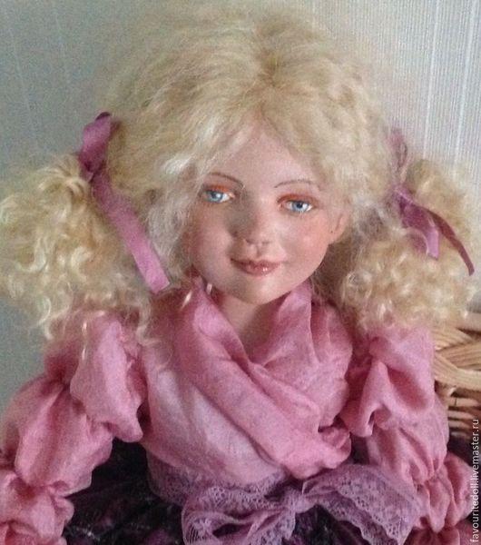 Коллекционные куклы ручной работы. Ярмарка Мастеров - ручная работа. Купить Юлечка -кукла с которой можно играть. Handmade. пластик