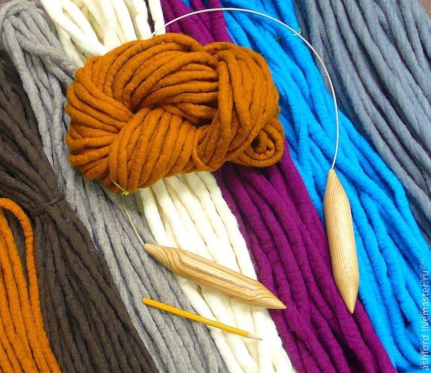пряжа для ручного вязания без спиц