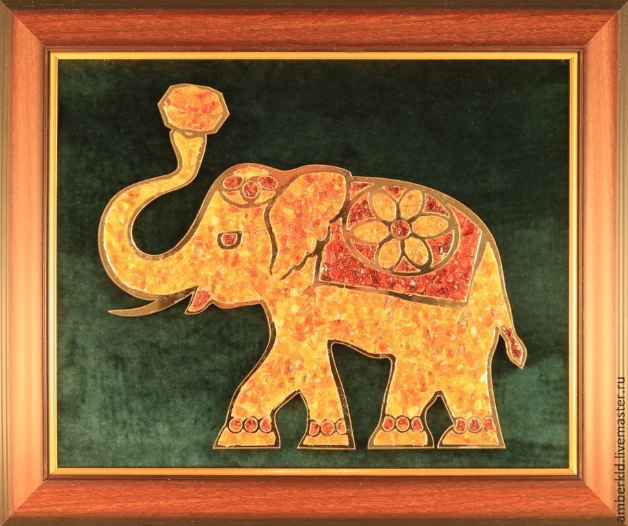 the main characteristics of the elephant, are the stability and well-being. an elephant's trunk draws positive energy into the house.