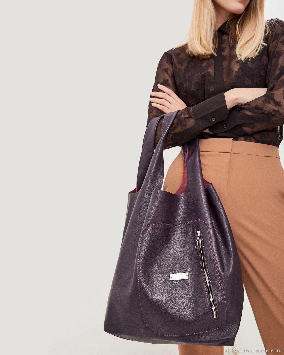 Bag - Bag Pack - large size with two pockets, Sacks, Moscow,  Фото №1