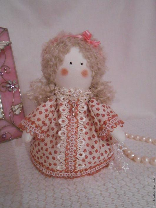 """Куклы Тильды ручной работы. Ярмарка Мастеров - ручная работа. Купить Ангел-малышка """"Доброе утро"""". Handmade. Розовый"""