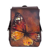 Сумки и аксессуары handmade. Livemaster - original item Female backpack