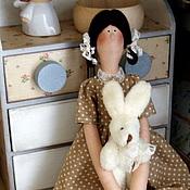 Куклы Тильда ручной работы. Ярмарка Мастеров - ручная работа Я  с тобой. Handmade.
