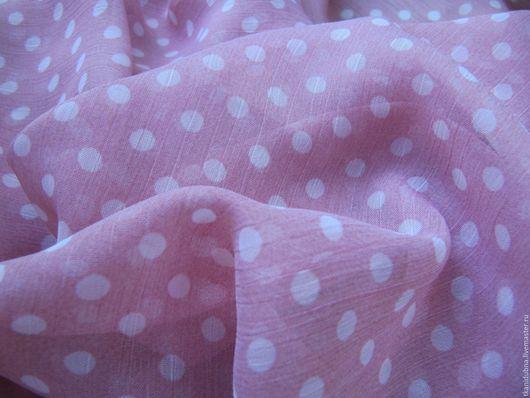"""Шитье ручной работы. Ярмарка Мастеров - ручная работа. Купить Шифон """"Нежность"""". Handmade. Бледно-розовый, шифон, шифоновое платье"""