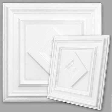Дизайн и реклама ручной работы. Ярмарка Мастеров - ручная работа Панель для подвесного потолка КАБИНЕТ-1. Handmade.