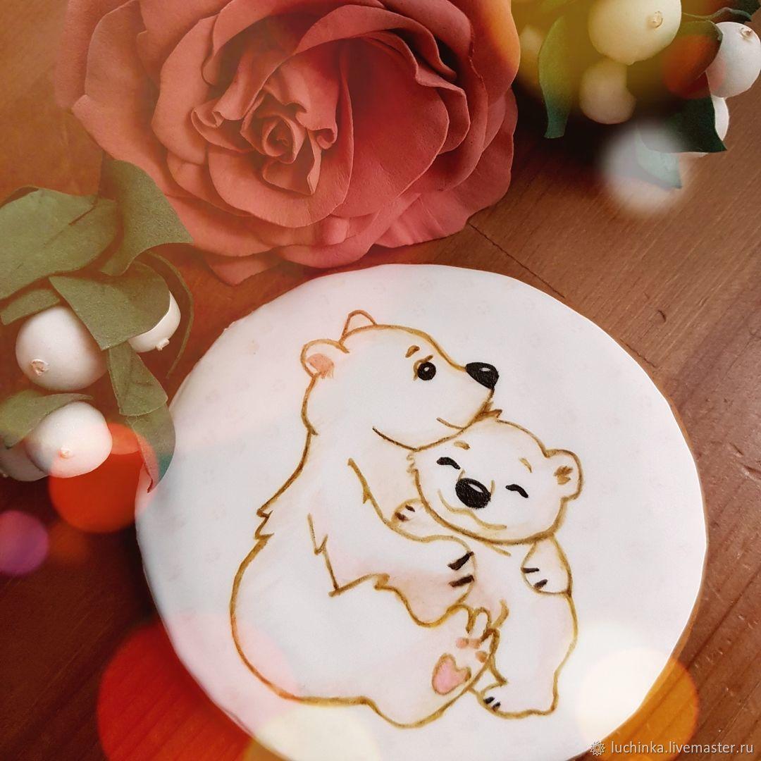 Белая медведица с малышом), Пряники, Щелково,  Фото №1