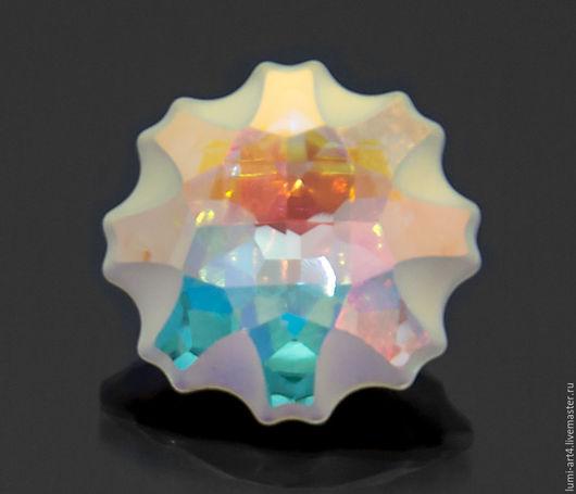 Для украшений ручной работы. Ярмарка Мастеров - ручная работа. Купить Медуза 14 мм Crystal AB Кристаллы Сваровски Jelly Fish (арт.4195). Handmade.