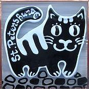 """Сувениры и подарки ручной работы. Ярмарка Мастеров - ручная работа Магнит """"Котик"""". Handmade."""