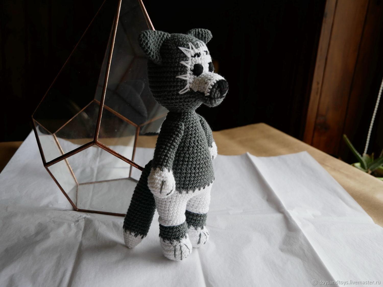 Grey wolf, Stuffed Toys, Gukovo,  Фото №1