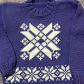Работы для детей, ручной работы. Ярмарка Мастеров - ручная работа вязанный свитер для ребенка. Handmade.