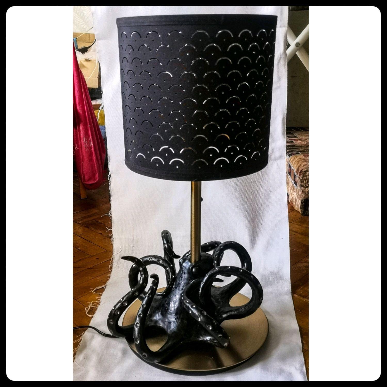 Лампа с осьминогом, Настольные лампы, Покров,  Фото №1