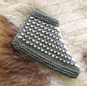 Обувь ручной работы handmade. Livemaster - original item A deal knit №1 (with the addition of goat down). Handmade.