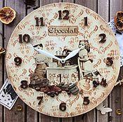 """Для дома и интерьера ручной работы. Ярмарка Мастеров - ручная работа Часы """" Винтаж"""". Handmade."""