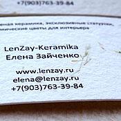 Дизайн и реклама handmade. Livemaster - original item Handmade. Business cards for artists.. Handmade.