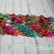 Украшения handmade. Livemaster - original item Carlo is a long chain with tourmaline quartz. Handmade.