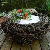 Работы для детей, ручной работы. Ярмарка Мастеров - ручная работа Гнездо для фотоссесии (доставка в подарок). Handmade.