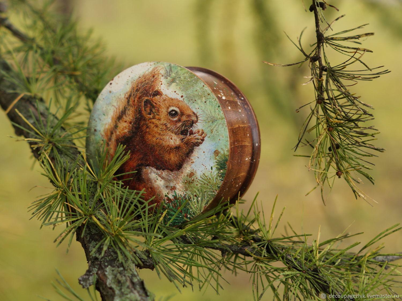 Шкатулка деревянная Орехоманка, Шкатулки, Санкт-Петербург,  Фото №1