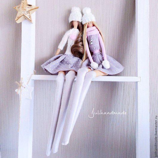 Куклы Тильды ручной работы. Ярмарка Мастеров - ручная работа. Купить Куколки julihandmade. Handmade. Тильда, текстильная кукла
