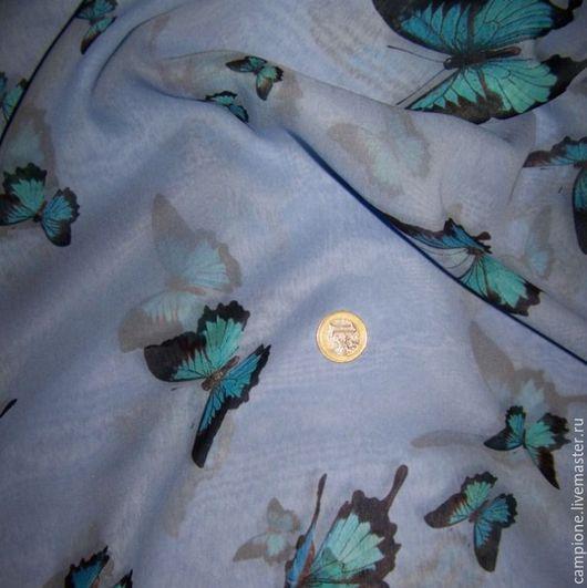 Шитье ручной работы. Ярмарка Мастеров - ручная работа. Купить Итальянский натуральный шелк. Handmade. Комбинированный, отрез на блузку