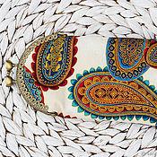 Очечник ручной работы. Ярмарка Мастеров - ручная работа Очечник: Очечник Футляр для очков Пейсли. Handmade.