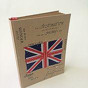 Канцелярские товары handmade. Livemaster - original item Sketchbooks British style. Handmade.
