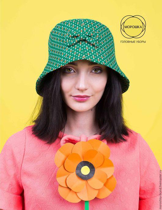 """Шляпы ручной работы. Ярмарка Мастеров - ручная работа. Купить Шляпка """"Лето"""". Handmade. Зеленый, женская шляпа, шляпа для девушки"""
