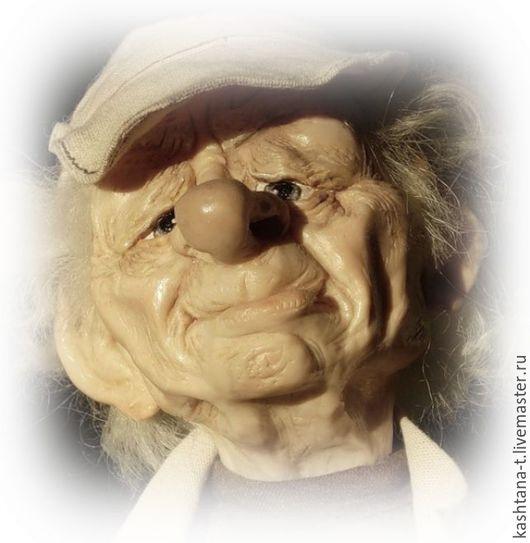 """Коллекционные куклы ручной работы. Ярмарка Мастеров - ручная работа. Купить авторская кукла """" Дачник Семён Семёныч"""". Handmade."""