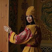Одежда ручной работы. Ярмарка Мастеров - ручная работа Кафтан Митра. Handmade.