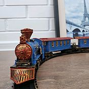 Техника, роботы, транспорт ручной работы. Ярмарка Мастеров - ручная работа Ретро поезд и железная дорога. Handmade.