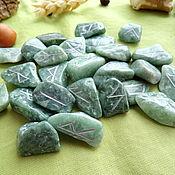 Фен-шуй и эзотерика handmade. Livemaster - original item Runes made of jadeite. Handmade.