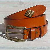 Аксессуары handmade. Livemaster - original item Strap leather women`s ASTA. Handmade.