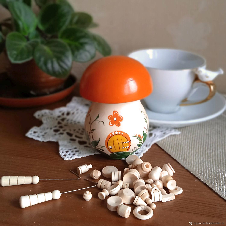 Бирюльки в грибочке (мелкие), Народные сувениры, Москва,  Фото №1