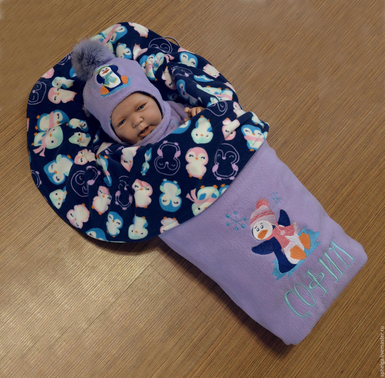 Комплект для новорождённого мастер класс