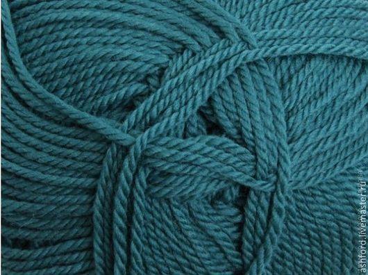 """Вязание ручной работы. Ярмарка Мастеров - ручная работа. Купить Пряжа для вязания шерсть """"Лазурь"""", 100 g. Handmade."""