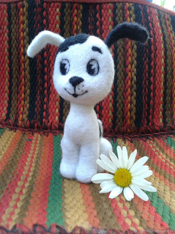 Войлочная игрушка: щенок ( собака) Шарик и Гав ( мультик ...