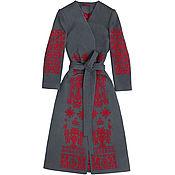 "Одежда handmade. Livemaster - original item Coat embroidered ""Сuckoo Song"". Handmade."