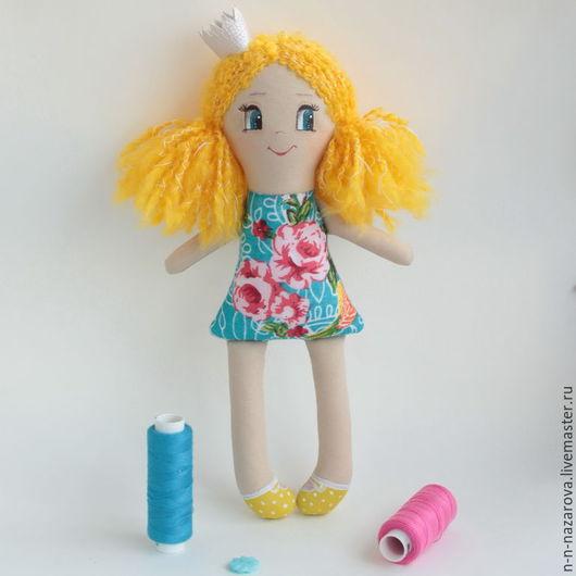 Сказочные персонажи ручной работы. Ярмарка Мастеров - ручная работа. Купить Принцесса Еленка (22 см). Handmade. Принцесса, кукла