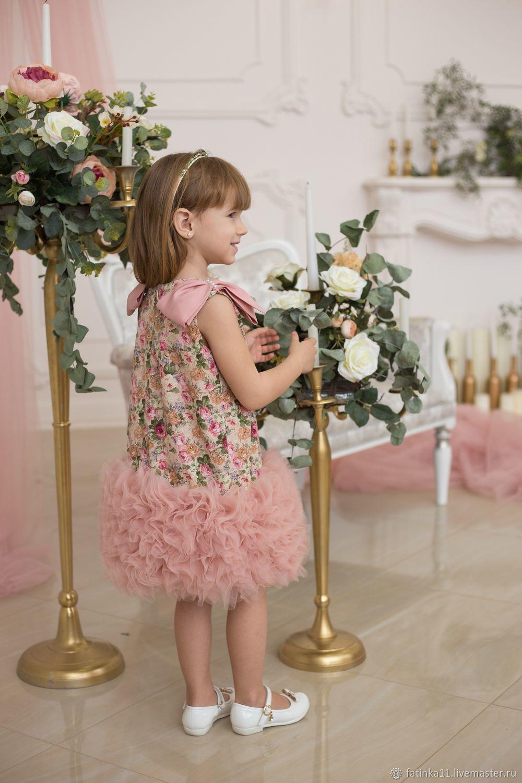 Платье для девочек Прованс