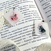 Украшения handmade. Livemaster - original item Earrings Rabbit Alice in Wonderland Lewis Carroll Illustration. Handmade.