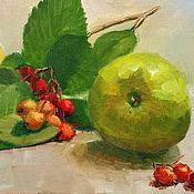 Картины и панно handmade. Livemaster - original item Oil painting. Antonivka. Autumn still life. Handmade.