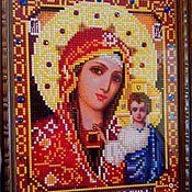 Казанская икона Божьей Матери (алмазная мозаика)