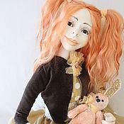 Куклы и игрушки ручной работы. Ярмарка Мастеров - ручная работа Каркасная кукла Бетти. Handmade.