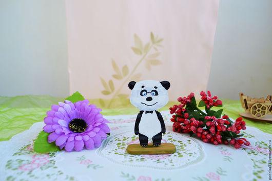 Сказочные персонажи ручной работы. Ярмарка Мастеров - ручная работа. Купить Игрушка панда из серии Маша и медведь. Handmade.