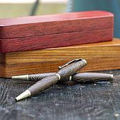 handmade. Livemaster - original item Wenge solid wood ballpoint pen. Handmade.