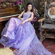 Одежда ручной работы. Ярмарка Мастеров - ручная работа Платье Lilac. Handmade.