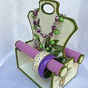 Для дома и интерьера ручной работы. Ярмарка Мастеров - ручная работа Подставка под украшения Орхидея. Handmade.